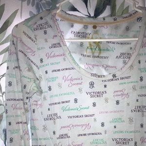 VS long sleeve nightgown